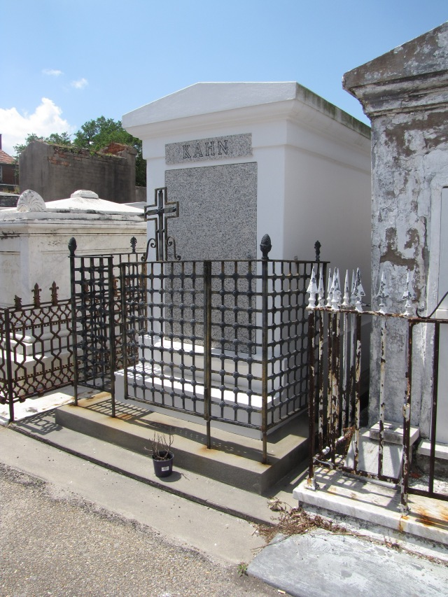 Saint Louis Cemetery, Number One, New Orleans, Louisiana