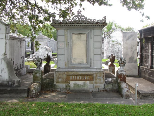The Reynolds Family Tomb, Metarie Cemetery, New Orleans