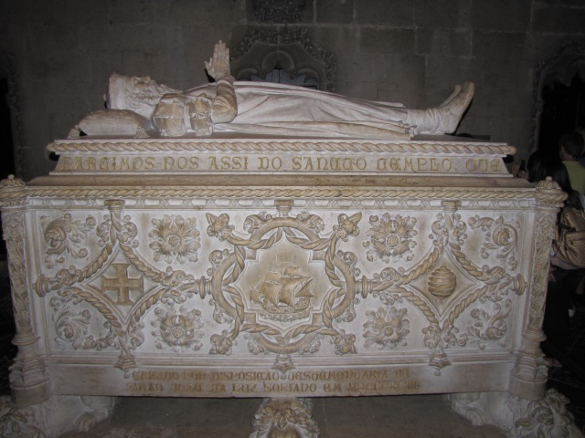Vasco de Gama's Tomb at Lison, Portugal
