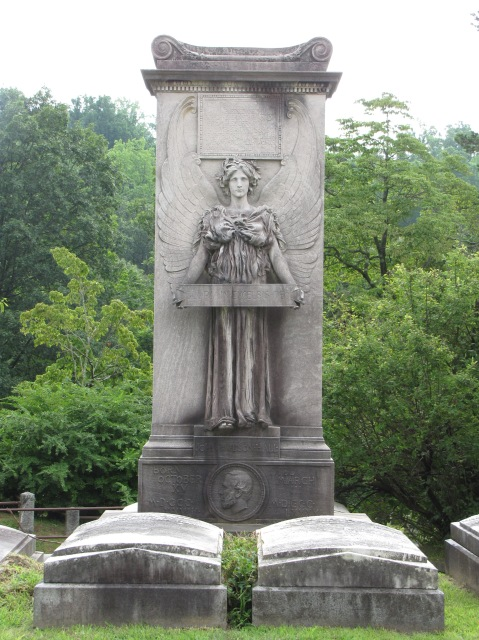 Hall Monument, Sleepy Hollow Cemetery