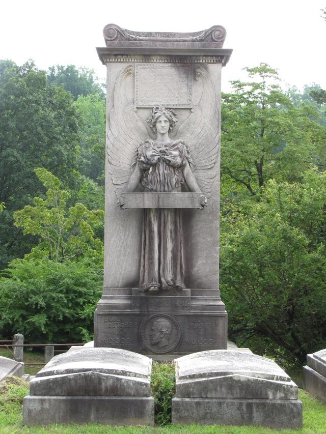 Hall Monument, Sleepy Hollow Cemetery