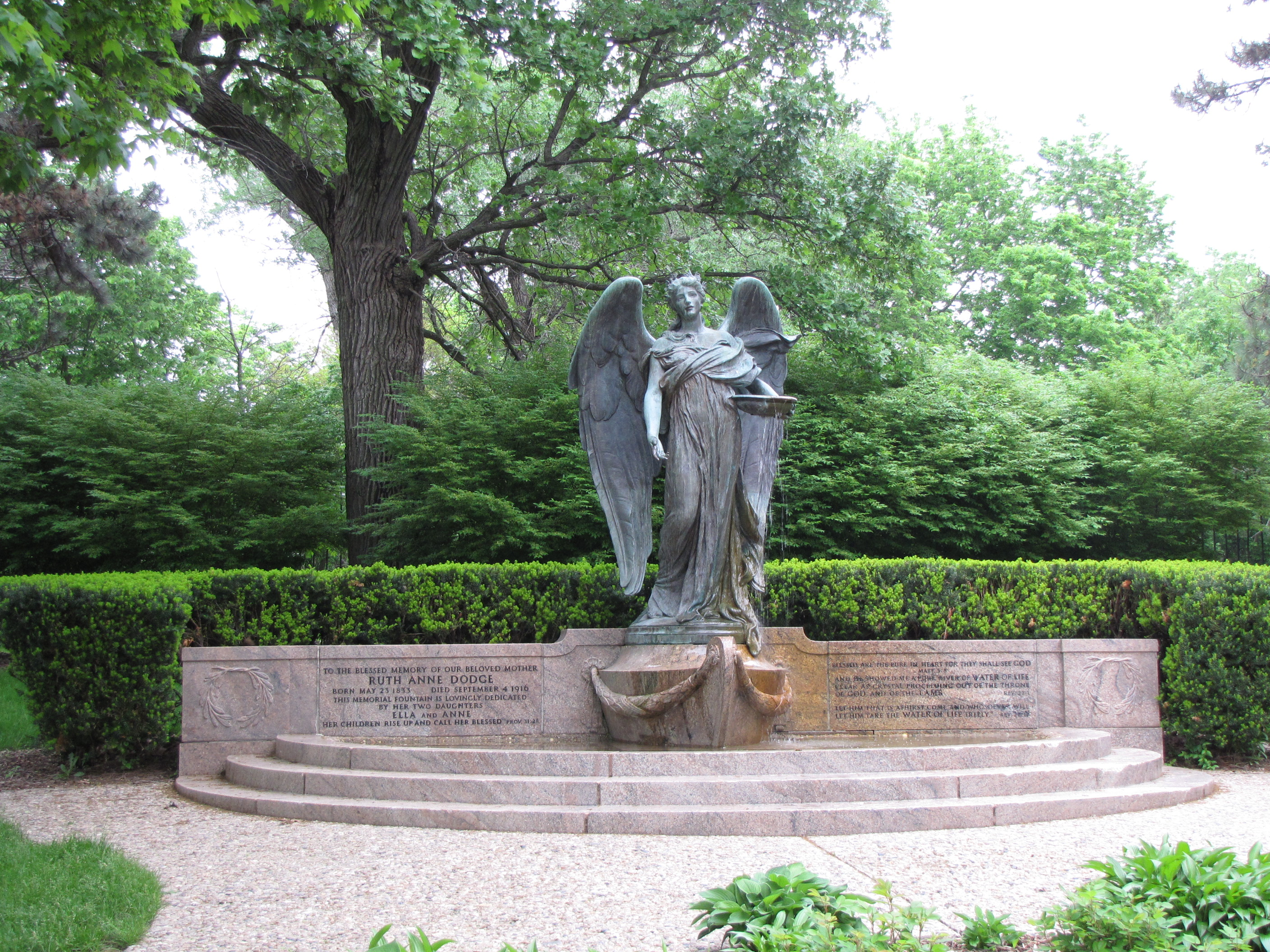 Visions of the Angel of Death | Gravely Speaking