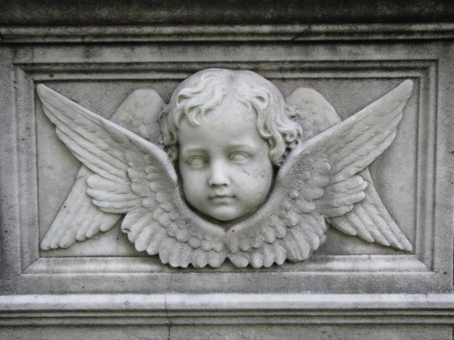 Winged Cherubs Gravely Speaking