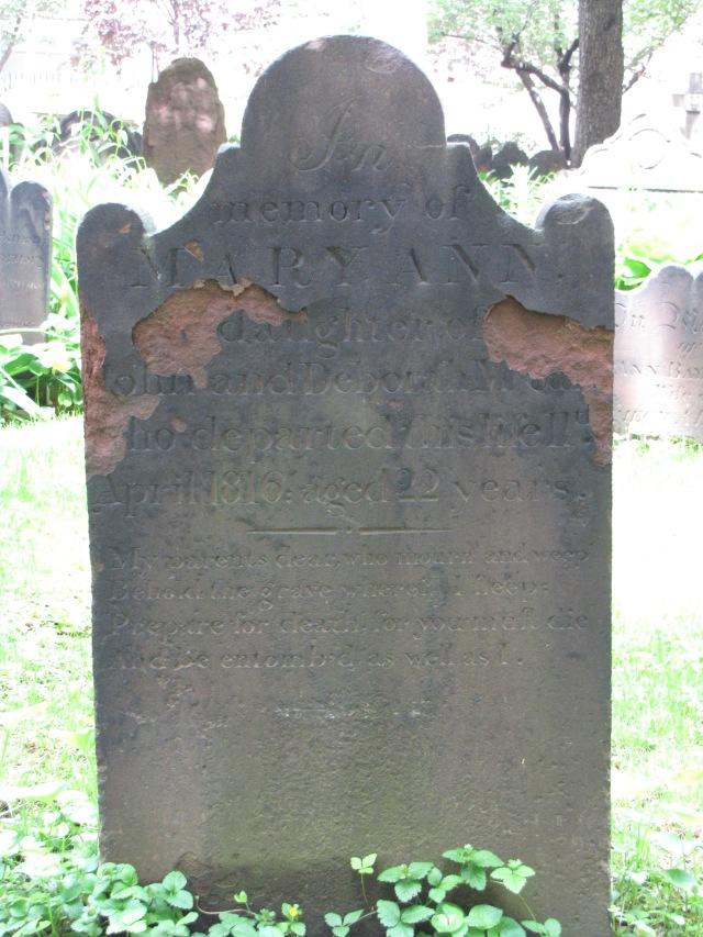 Trinity Churchyard Cemetery, New York