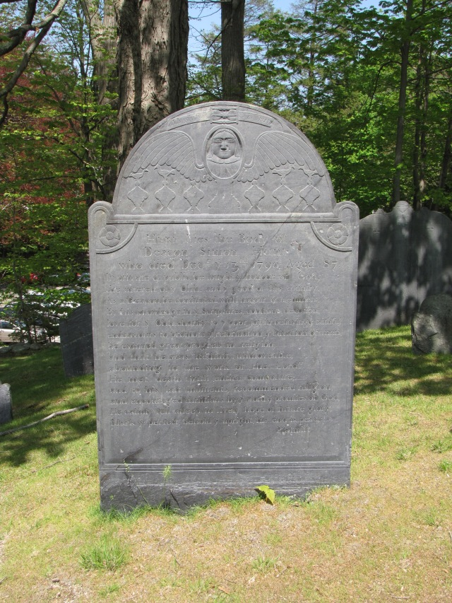 The Old Hill Burying Ground, Concord, Massachusetts