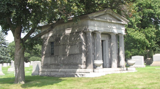 Rosehill Cemetery, Chicago, Illinois