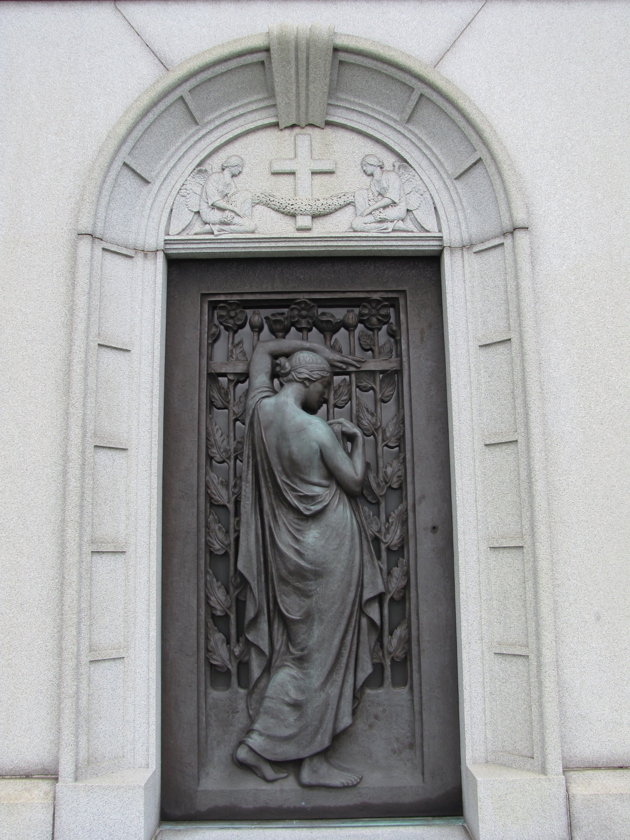 The door is the pathway from the earthly realm to the next. In all five ex&les from mausoleum doors a mourning figure ... & Slight Variations on a Theme: The Door | Gravely Speaking Pezcame.Com