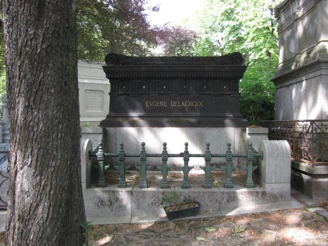 Le Père Lachaise Cemetery, Paris, France