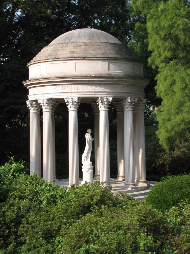 Temple of Love at the Cave Hill Cemetery, Louisville, Kentucky