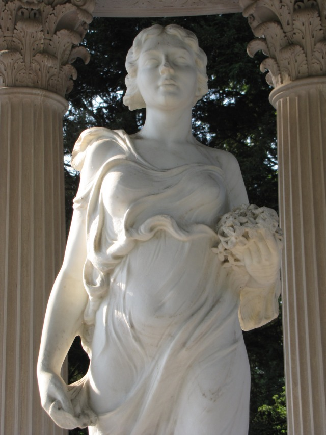 Flora, Temple of Love, Satterwhite Memorial, Cave Hill Cemetery, Louisville