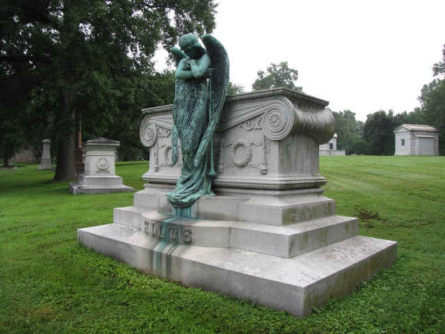 Hilts Family Monument, Bellefontaine Cemetery, St. Louis, Missouri