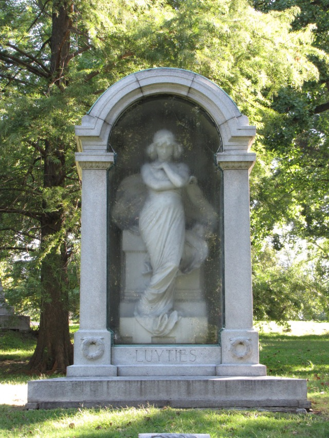 Luyties Monument, Bellefontaine Cemetery, St. Louis, Missouri
