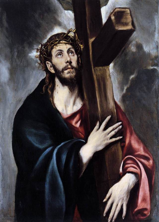 Christ Carrying the Cross by El Greco, circa 1578