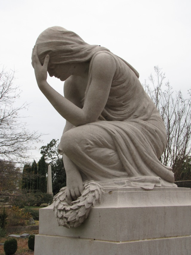 The Gray Family Monument at the Oakland Cemetery at Atlanta, Georgia