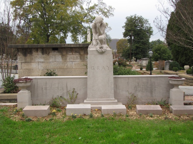 Gray Family Monument at the Oakland Cemetery at Atlanta, Georgia