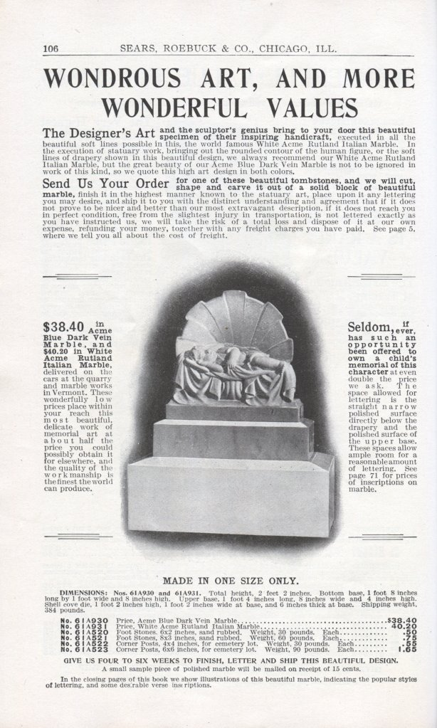 Page 106 from the 1906 Sears, Roebuck and Company catalog