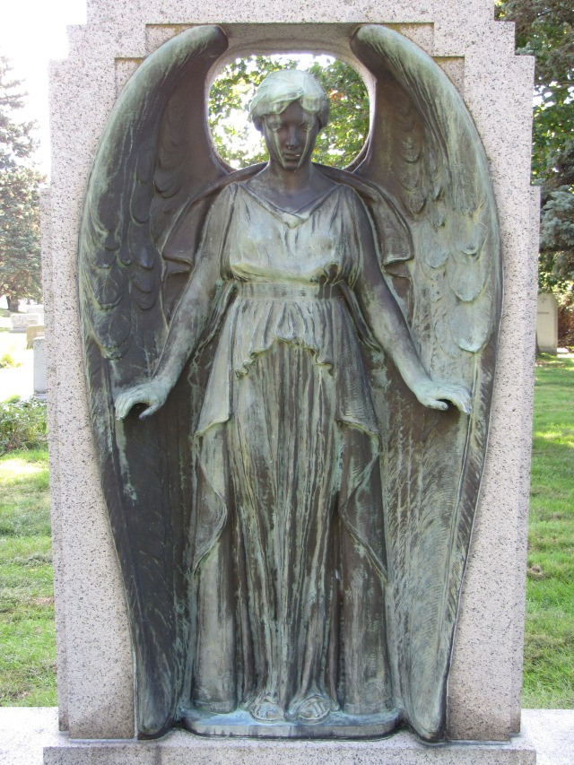 Myron Leslie Learned (1866 – 1928) and Mary Poppleton Learned (1873 – 1960) Forest Lawn Cemetery, Omaha, Nebraska