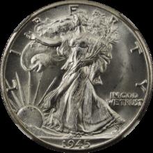 Walking Liberty Dollar designed by Alexander Weinman