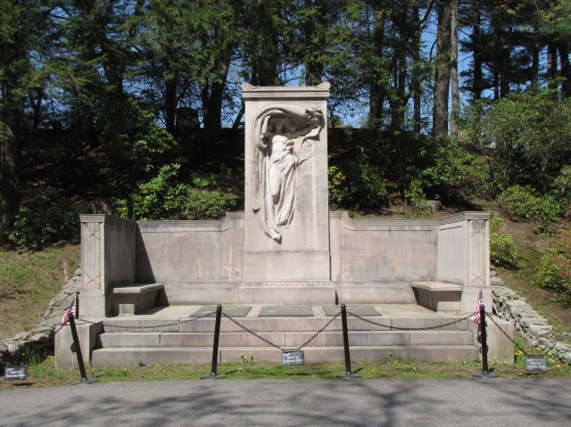 Melvin Brothers Memorial, Sleepy Hollow Cemetery, Concord, Massachusetts