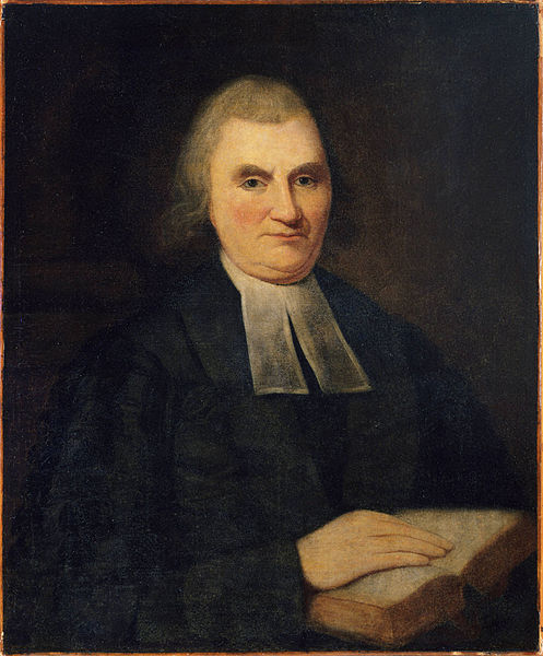 Portrait of Rev. John Witherspoon by Charles Wilson Peale (Public Domain)